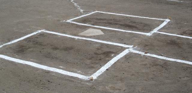 野球グランドのホーム