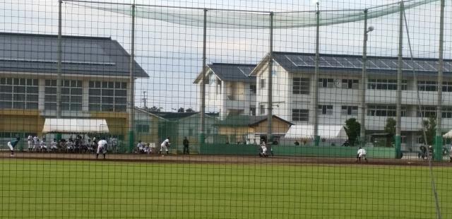 高校野球練習