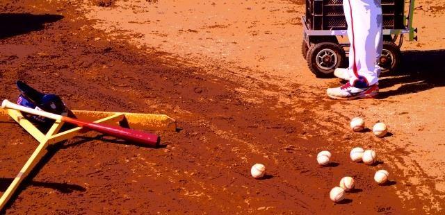 高校野球のグランド整備