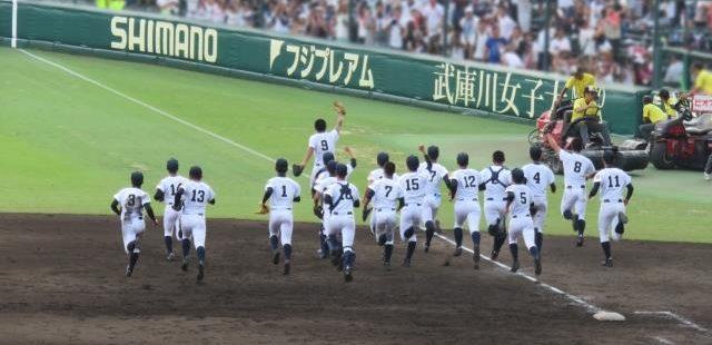 高校野球の勝利