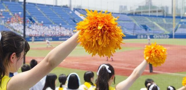 高校野球のチアリーダー