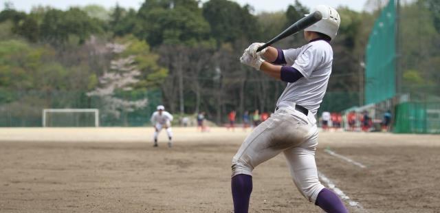 高校野球バッター