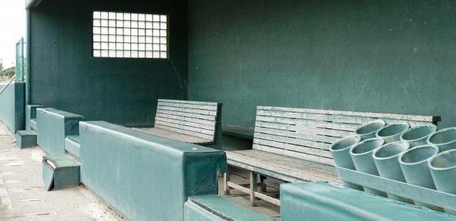 高校野球ベンチ