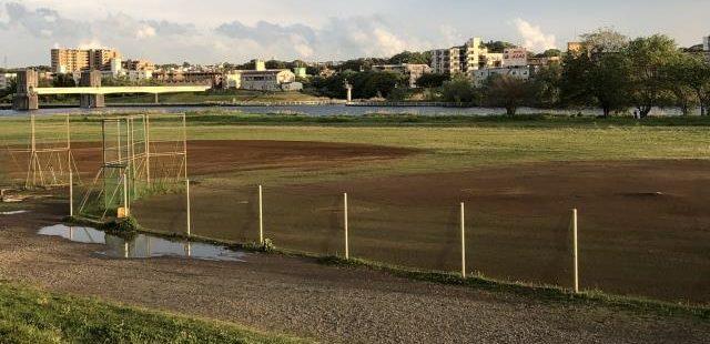 高校野球練習場