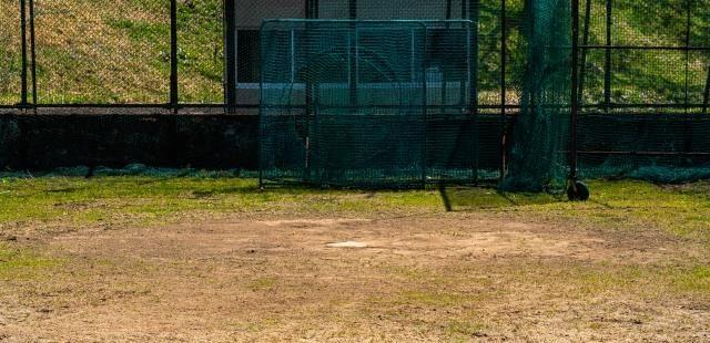 野球のブルペン